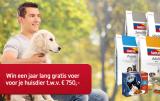 Win voer voor je huisdier t.w.v. 750 EURO