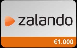Zalando Cadeaubon van 1000 euro